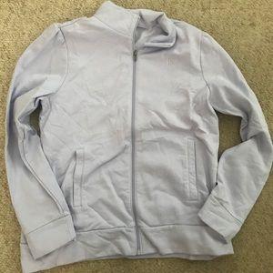Women's Banana Republic Full zip sweatshirt.